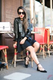 Flat lace up shoes trend 22