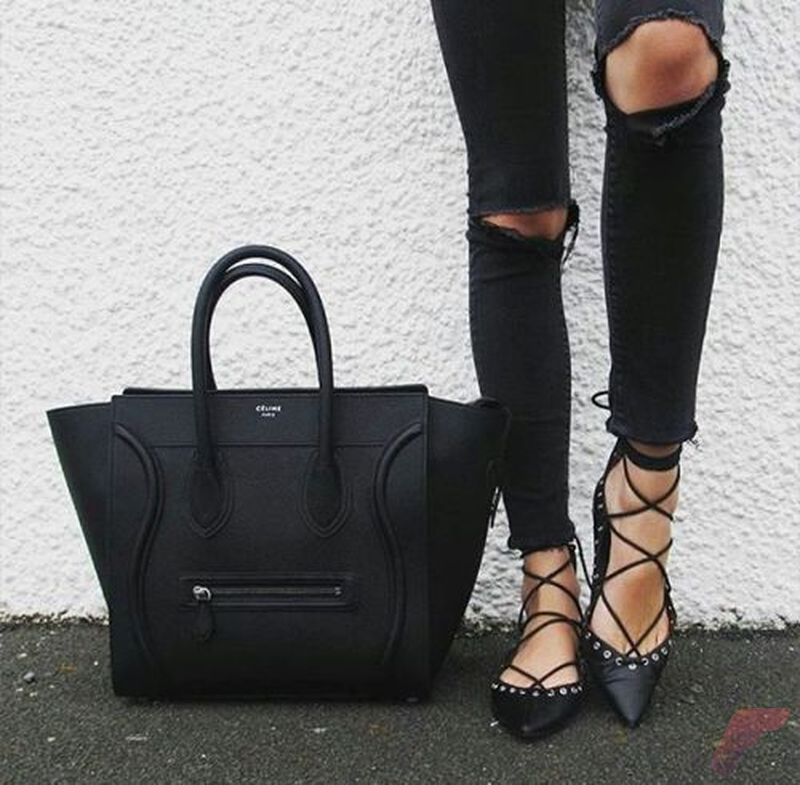 Flat lace up shoes trend 44