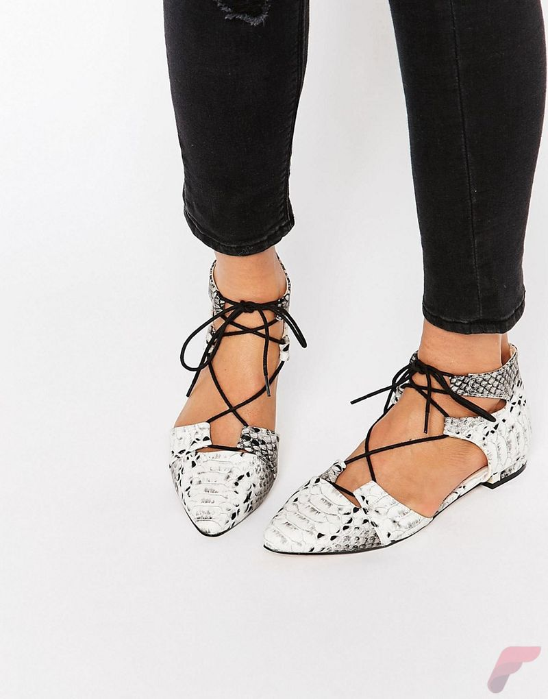 Flat lace up shoes trend 63