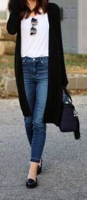 High waisted jeans outfit style 4