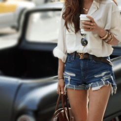 High waisted jeans outfit style 53