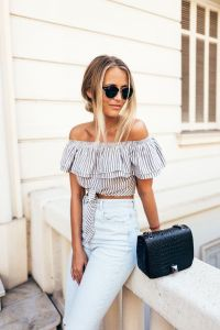 High waisted jeans outfit style 74