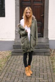 Ideas how to wear timberland boots for girl 19