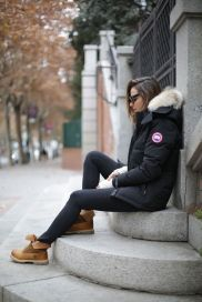 Ideas how to wear timberland boots for girl 22