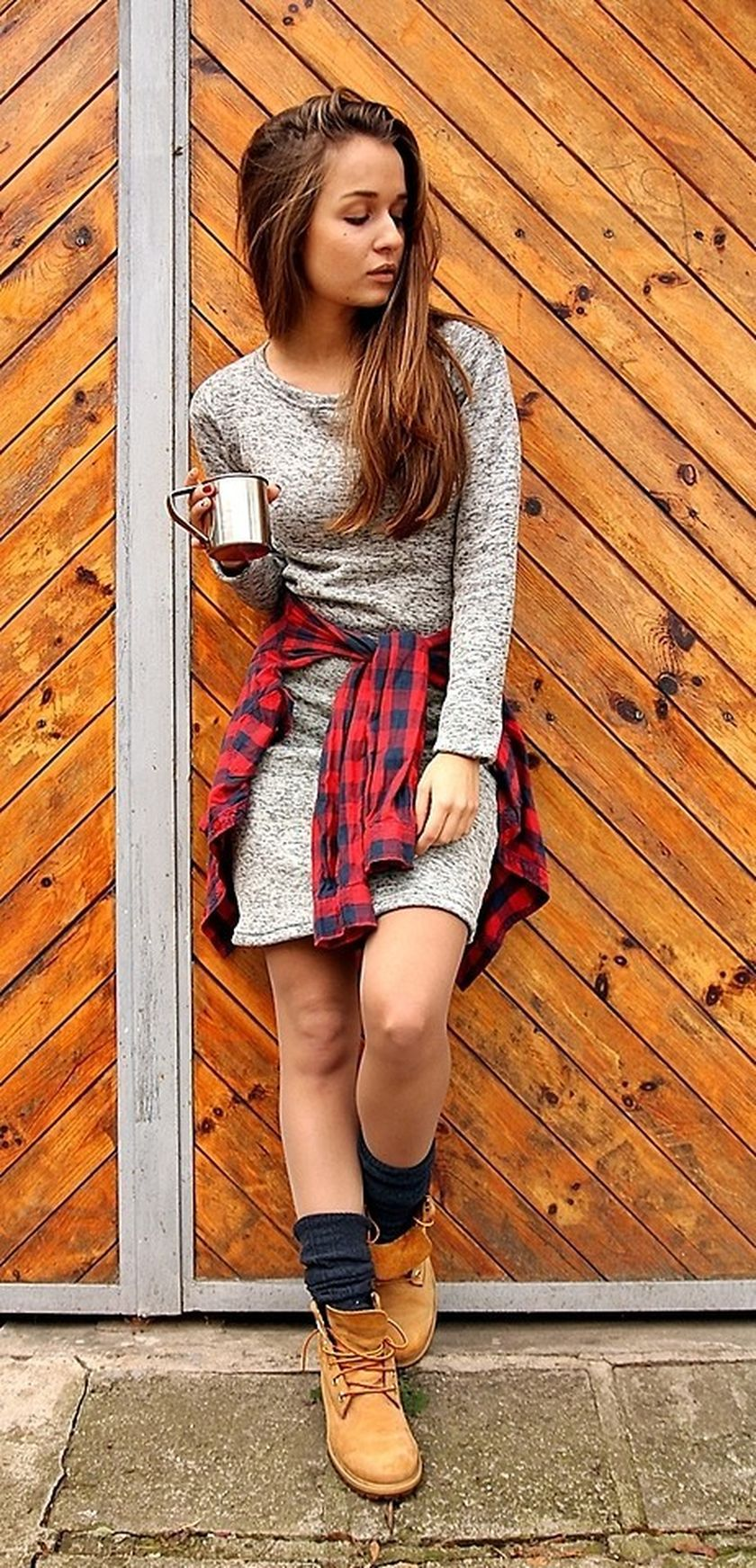 Ideas how to wear timberland boots for girl 24