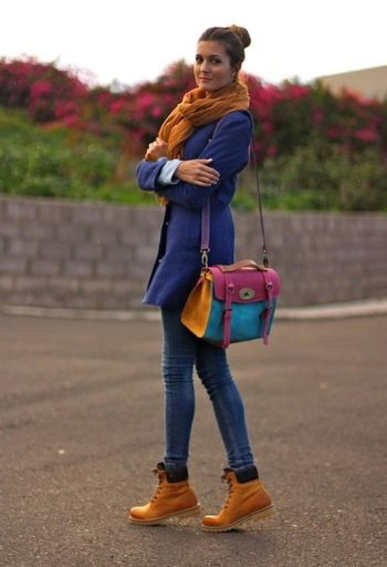 Ideas how to wear timberland boots for girl 30