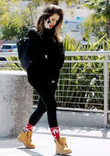 Ideas how to wear timberland boots for girl 31