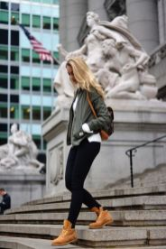 Ideas how to wear timberland boots for girl 41