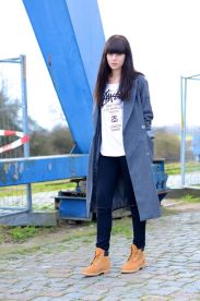 Ideas how to wear timberland boots for girl 42