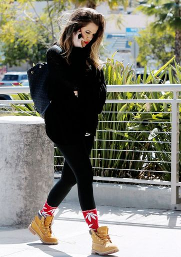 Ideas how to wear timberland boots for girl 43