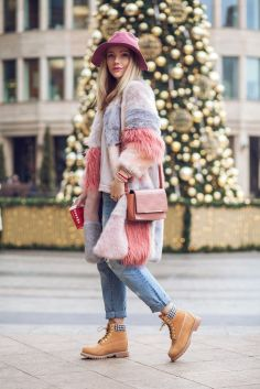 Ideas how to wear timberland boots for girl 63
