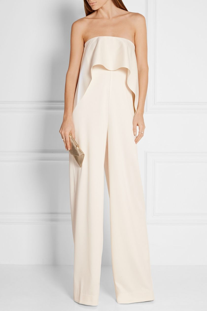 Jumpsuits strapless outfit 11