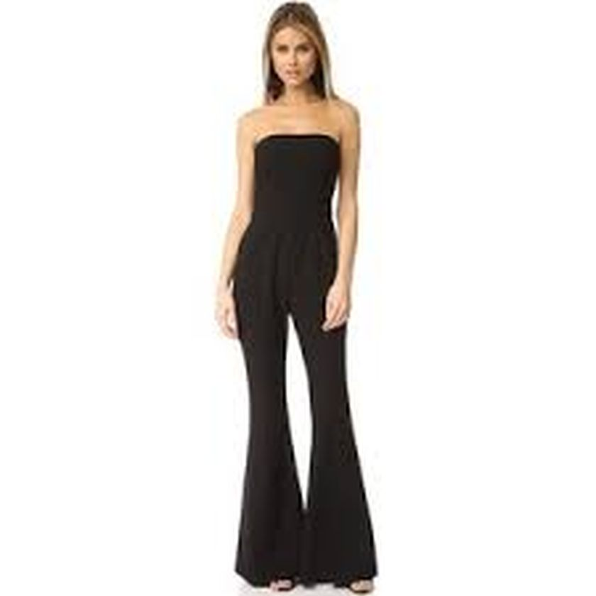 Jumpsuits strapless outfit 24