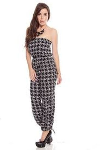 Jumpsuits strapless outfit 3