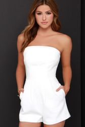 Jumpsuits strapless outfit 41