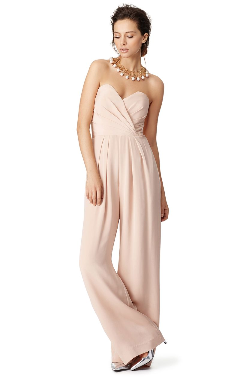 Jumpsuits strapless outfit 64