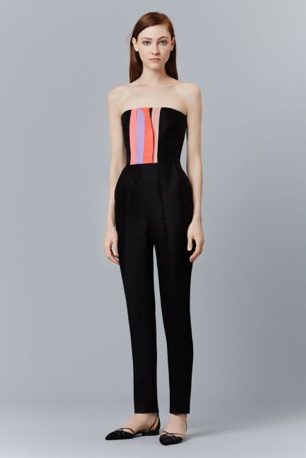 Jumpsuits strapless outfit 76