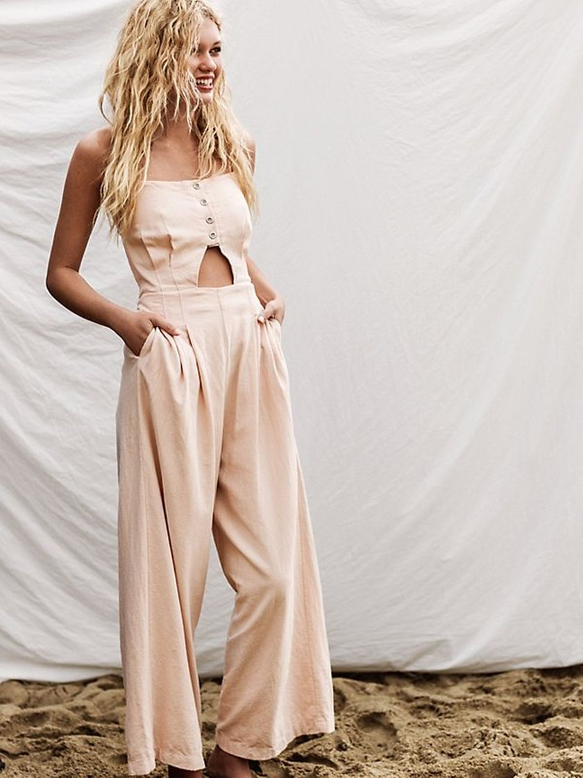 Jumpsuits strapless outfit 96