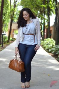 Layering outfits plus size sweaters 15