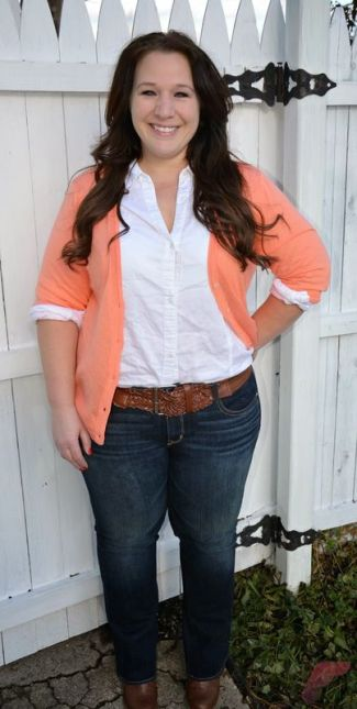 Layering outfits plus size sweaters 17