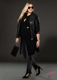 Layering outfits plus size sweaters 28