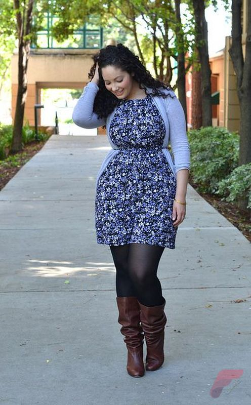 Layering outfits plus size sweaters 43