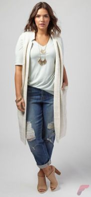 Layering outfits plus size sweaters 48