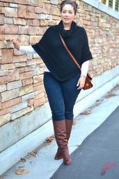 Layering outfits plus size sweaters 5