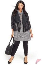 Layering outfits plus size sweaters 51
