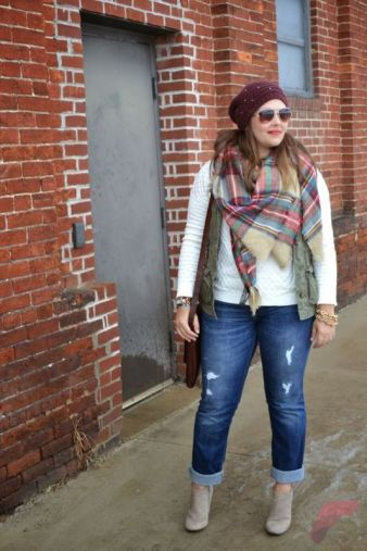 Layering outfits plus size sweaters 55
