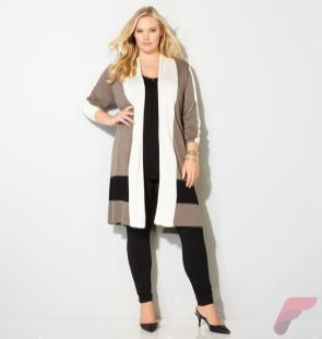 Layering outfits plus size sweaters 61