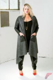 Layering outfits plus size sweaters 65