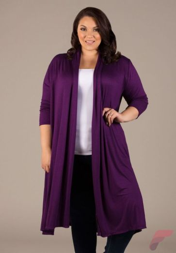 Layering outfits plus size sweaters 69