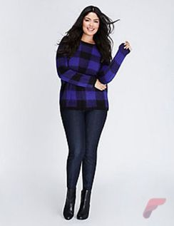 Layering outfits plus size sweaters 9