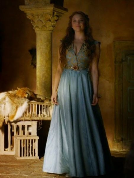 Margaery tyrell game of thrones dress costume 15