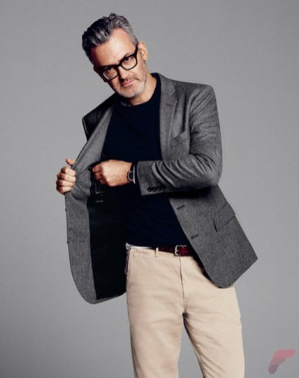 Men sport coat with jeans (116)