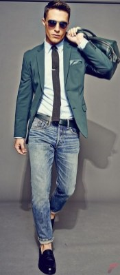 Men sport coat with jeans (122)