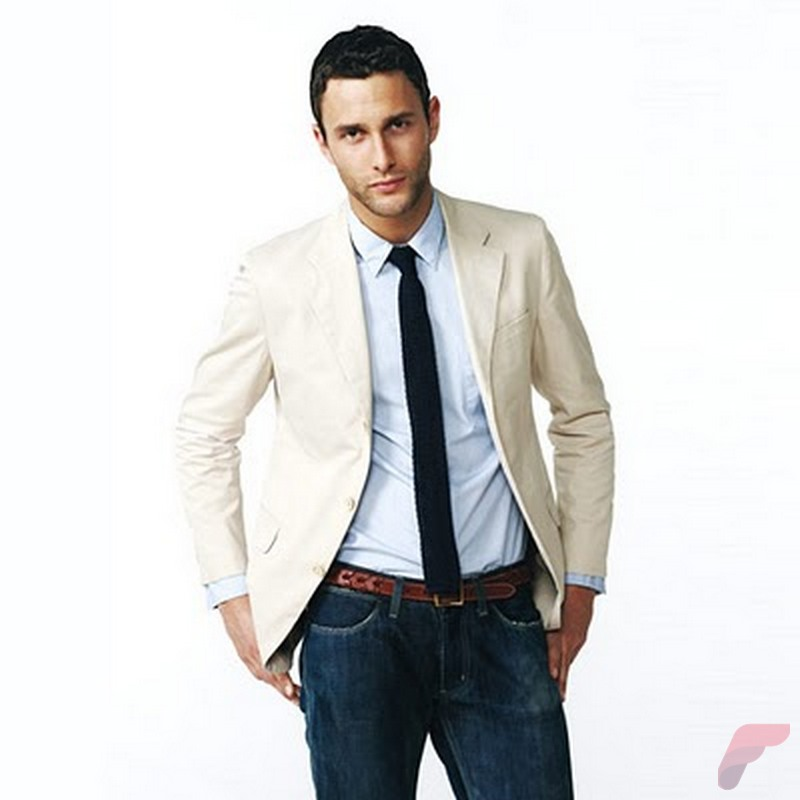 Men sport coat with jeans (135)