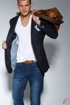 Men sport coat with jeans (150)
