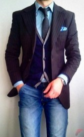 Men sport coat with jeans (16)