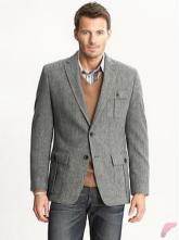 Men sport coat with jeans (166)