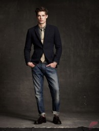 Men sport coat with jeans (182)