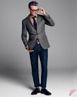 Men sport coat with jeans (184)