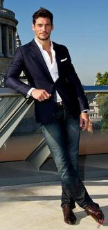 Men sport coat with jeans (54)