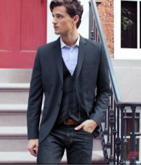 Men sport coat with jeans (56)