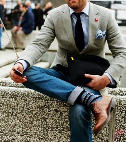 Men sport coat with jeans (60)