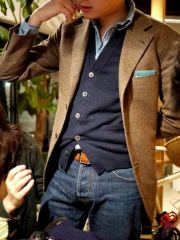 Men sport coat with jeans (62)