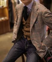 Men sport coat with jeans (65)