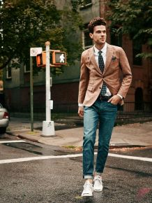 Men sport coat with jeans (75)