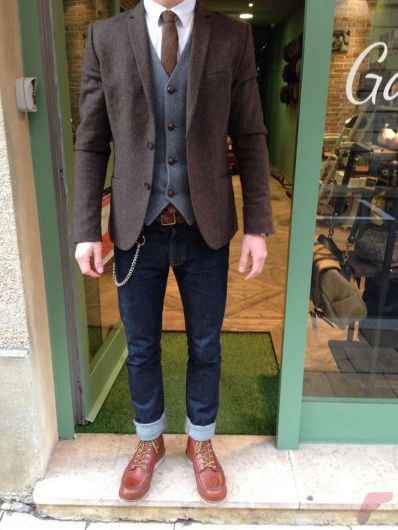 Men sport coat with jeans (90)